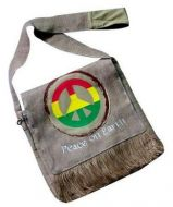 Hemp Rasta Style Bag