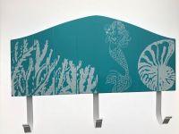Blue Mermaid Ocean wood sign rack