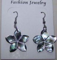 Flower Shell Earrings