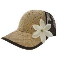 Lauhala (Straw) Trucker Hat